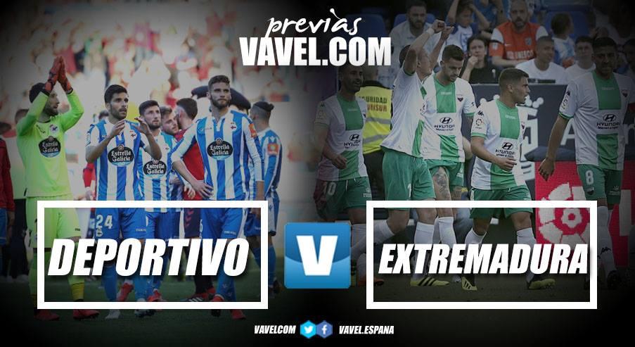 Previa Deportivo de la Coruña - Extremadura: duelo de necesitados