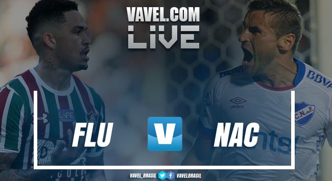 Resultado Nacional x Fluminense pelaCopa Sul-Americana (0-1)