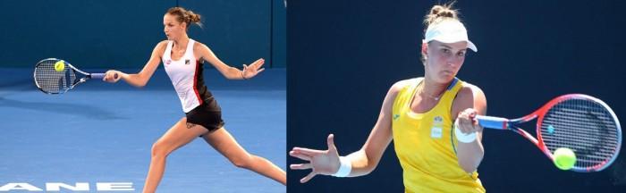 Beatriz Haddad Maia é derrotada por Karolina Pliskova no Australian Open (0-2)