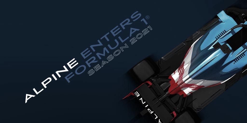 Renault pasará a ser el Alpine F1 Team a partir de 2021