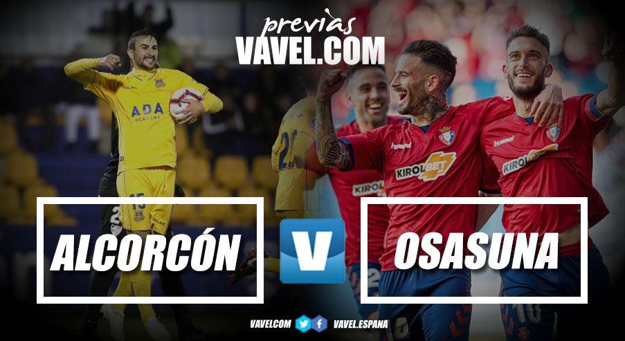 """Previa AD Alcorcón CA Osasuna: primera opción de """"match ball"""" para el ascenso"""