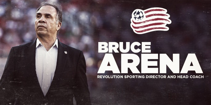 Bruce Arena toma las riendas de New England Revolution