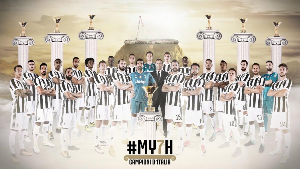 Juventus campione d'Italia per la settima volta consecutiva: record per la Serie A