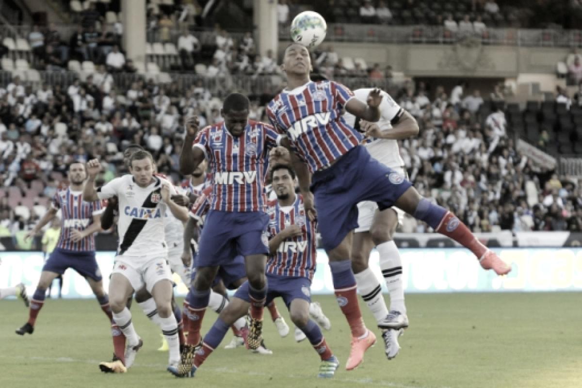 Resultado e gols de Bahia x Vasco pela Copa do Brasil de 2018 (3-0)