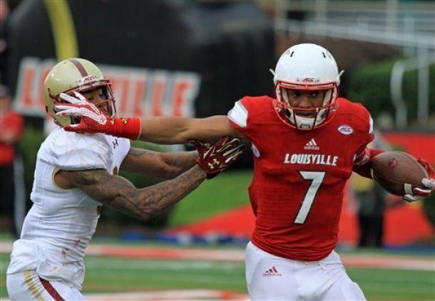 Louisville Cardinals Take Down Boston College Eagles 17-14