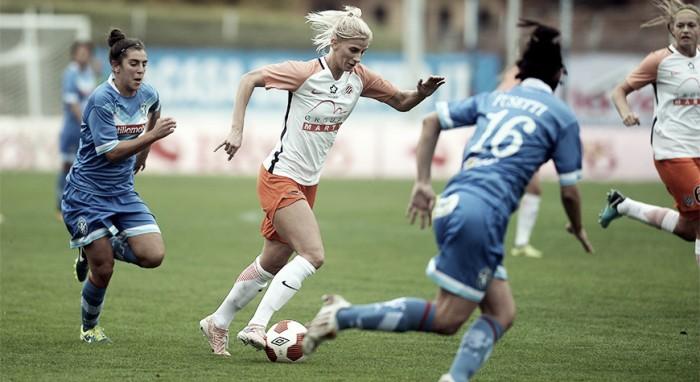 Montpellier vence Brescia e abre vantagem no primeiro confronto da Champions Feminina
