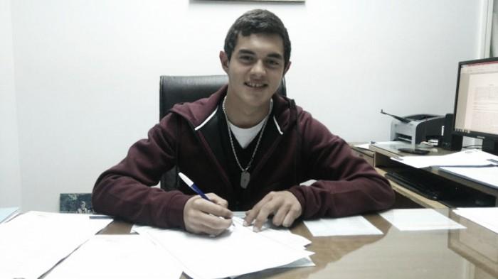 Primer contrato para Lovera