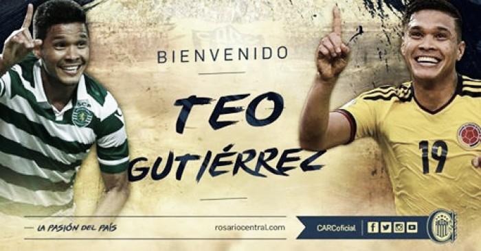 Rompió el mercado: Central contrató a Teo Gutiérrez