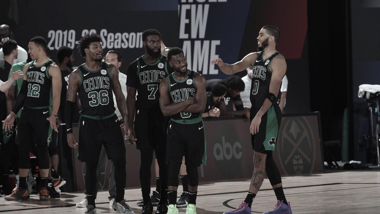 Los Celtics de Tatum buscan romper un récord conseguido por Larry Bird
