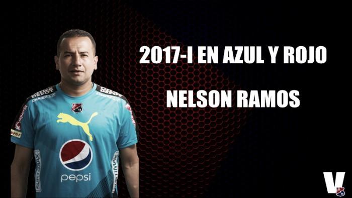 2017-1 en azul y rojo: Nelson Ramos