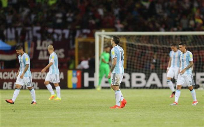 Qualificazioni Mondiali 2018, l'Argentina rimonta a fatica il Venezuela: 2-2