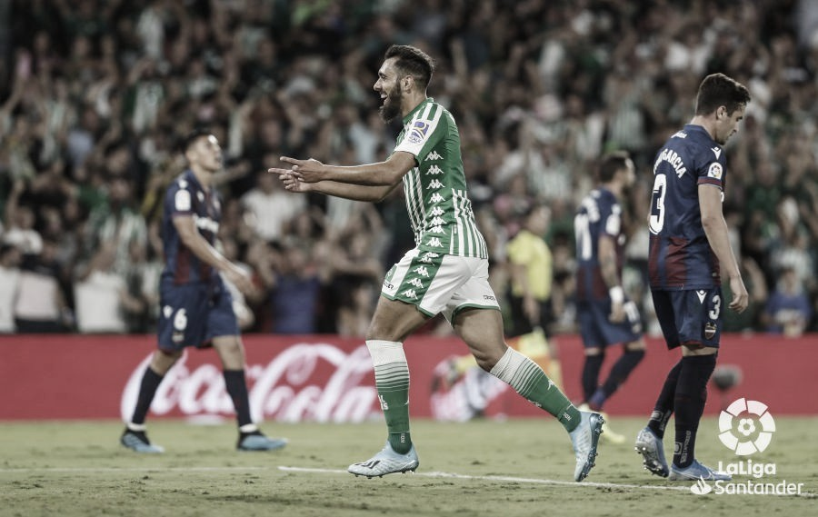"Borja Iglesias: ""Tenemos nivel para estar arriba"""