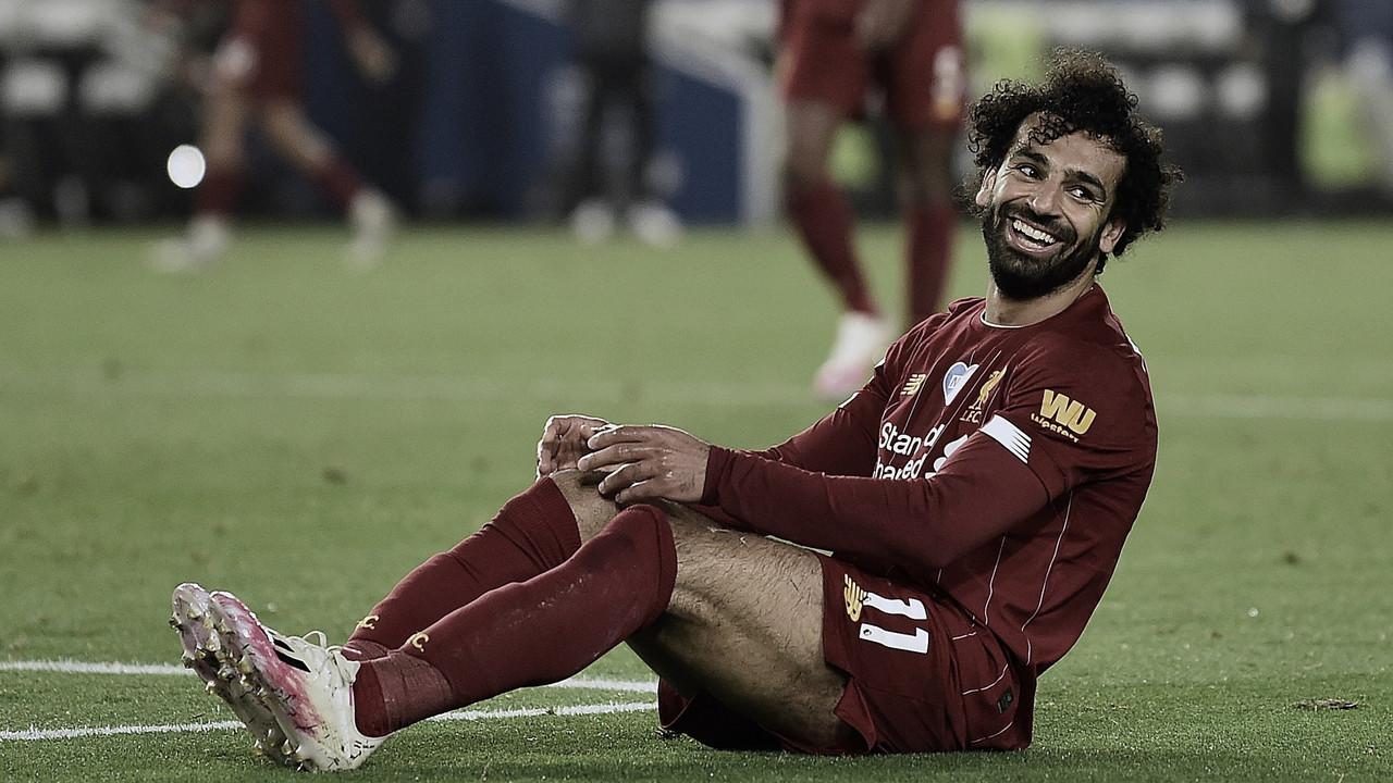 Salah avalia 'bom jogo' em partida convincente do campeão Liverpool em Brighton