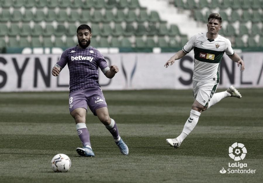Elche - Real Betis: puntuaciones del Real Betis jornada 29ª de Liga Santander