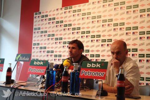 """Ziganda: """"El objetivo del Bilbao Athletic es que los jugadores mejoren cada día"""""""