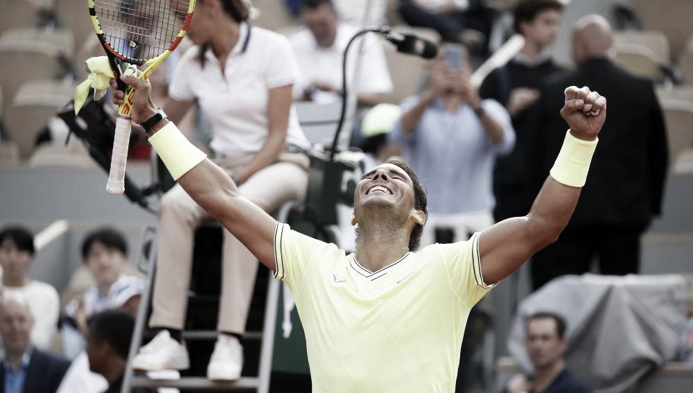 Nadal brilló y está en semifinales