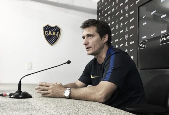 """Barros Schelotto: """"La importancia de ese partido no es la Supercopa, sino el rival"""""""