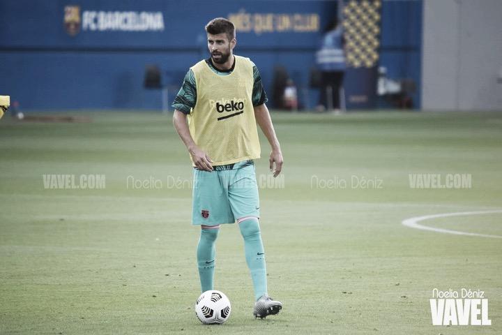 El Barcelona se entrena sin los internacionales