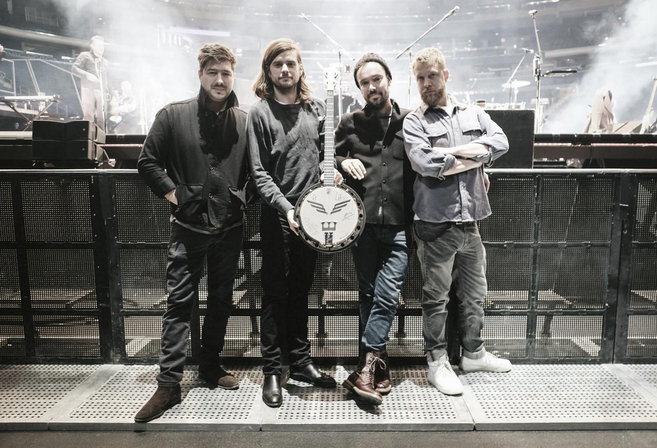 Mumford and Sons continúa su gira por Europa