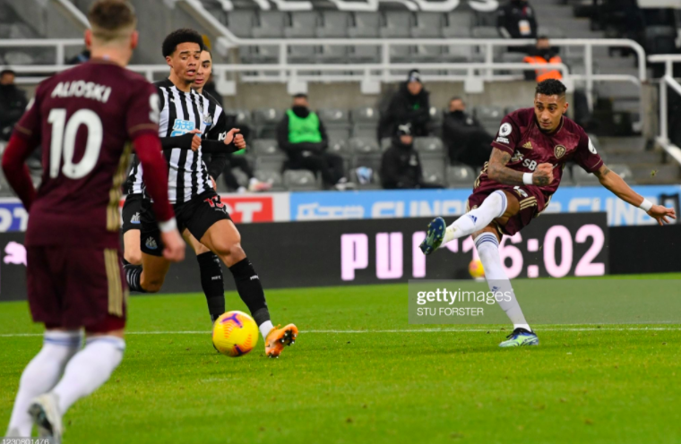 Newcastle United 1-2 Leeds United: Magpies fall to sixth straight defeat