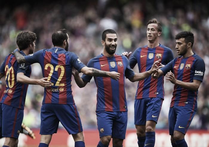 Barcelona vence Celtic sem dificuldades em sua estreia na Champions Cup