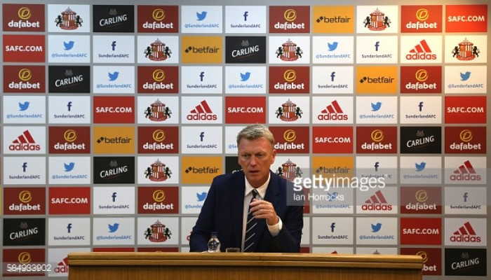 David Moyes not worried by Sunderland's injury problems