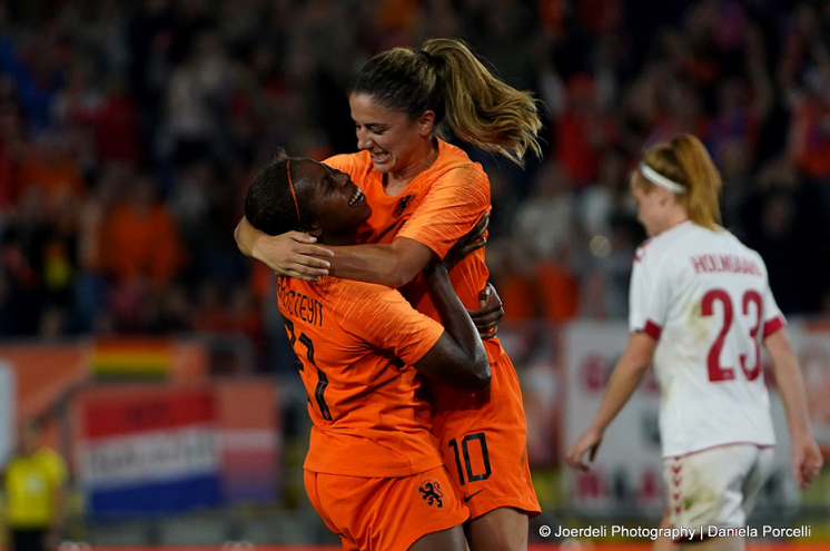UEFA Women's World Cup: Denmark 1-2 Netherlands