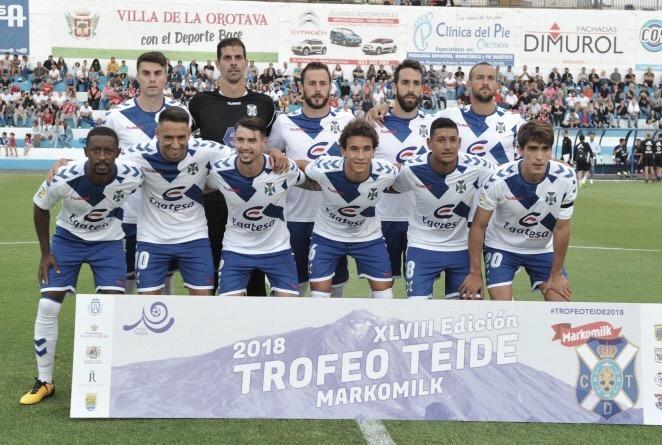 Análisis del equipo rival: CD Tenerife, un equipo renovado