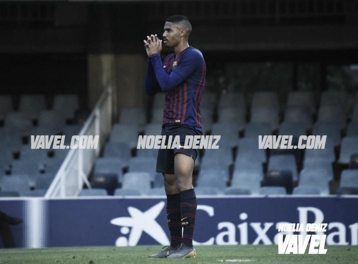Gabriel Novaes estrena titularidad con el Barça B