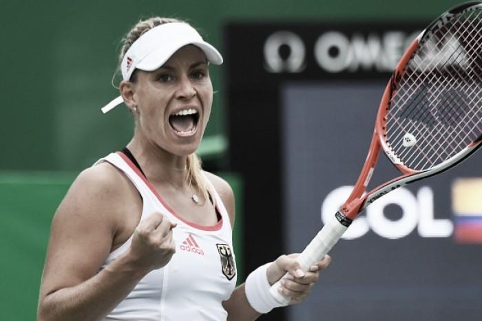 Favorita, Angelique Kerber derrota Keys e vai à final na Rio 2016