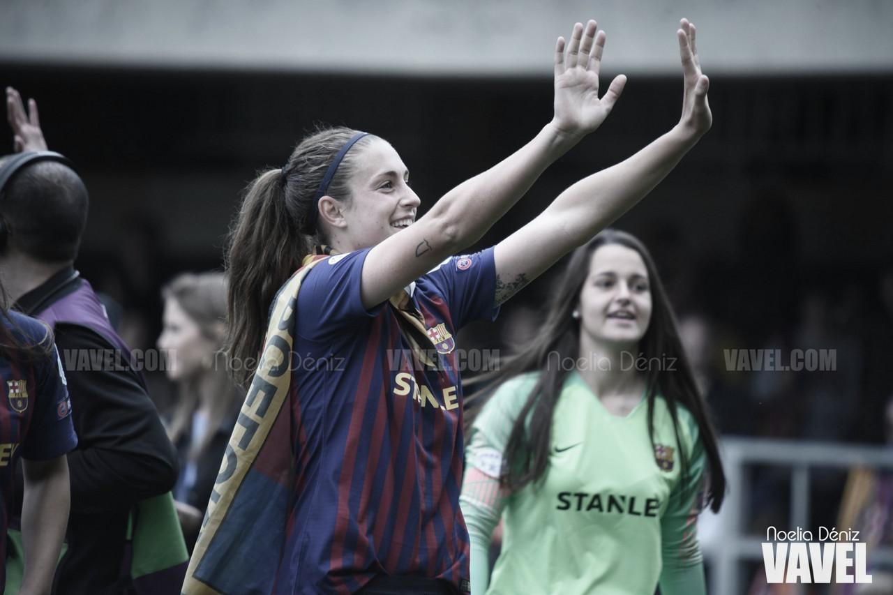 """Alexia Putellas: """"Cuando llegué aquí mi sueño era jugar una final con el Barça"""""""