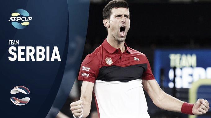 ATP Cup: Sérvia passa fácil pelo Canadá e está classificada para semifinal