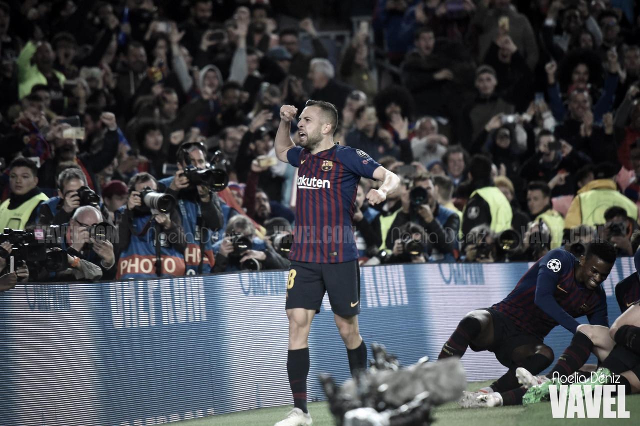 """Jordi Alba: """"Ver a Messi cada día en los entrenamientos es una alegría"""""""