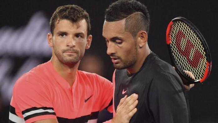 Em jogo equilibrado, Dimitrov vence Kyrgios e avança às quartas de final do Australian Open