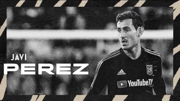 Javi Pérez firma por LAFC