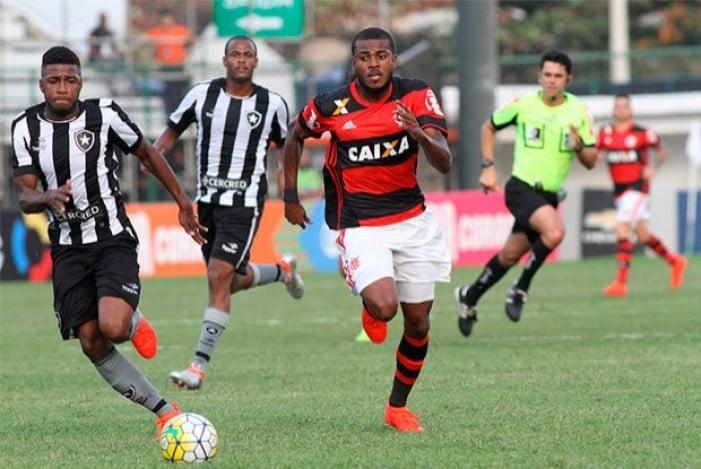 Resultado Flamengo x Botafogo no Campeonato Brasileiro 2016 (0-0)