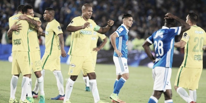 Atlético Nacional se va con SAldo positivo de Bogotá