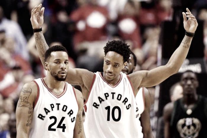 NBA Playoffs: Vola Toronto, a Milwaukee non basta Antetokounmpo (118-93)