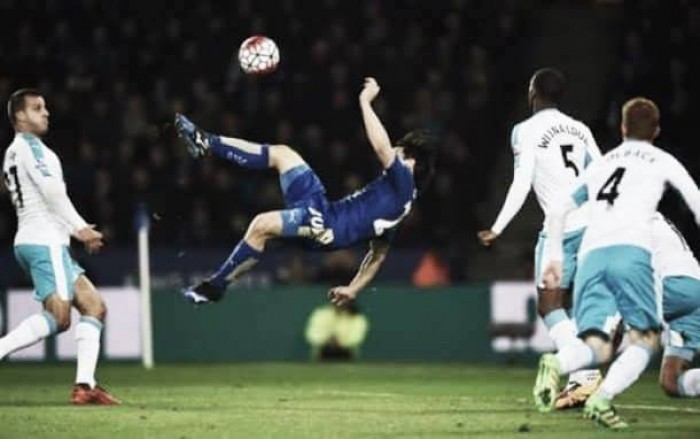 Leicester City 1-0 Newcastle United: Okazaki's wonder goal the difference on Benitez debut