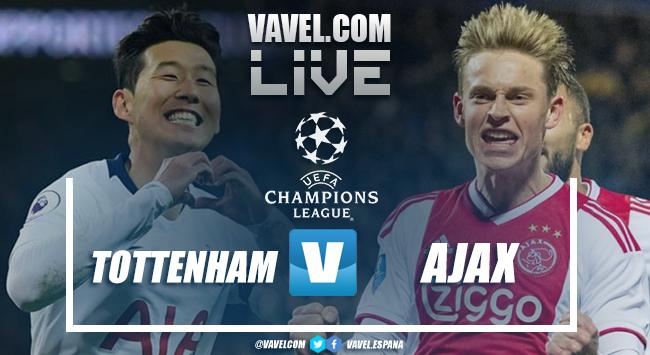 Resumen del Tottenham (0-1) Ajax por la UEFA Champions League 2018-19