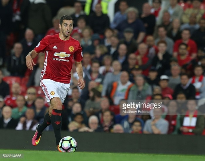 Owen Hargreaves claims Henrikh Mkhitaryan needs to start