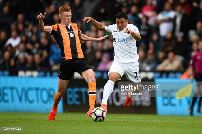 Swansea City sign midfielder Sam Clucas from Hull City for undisclosed fee