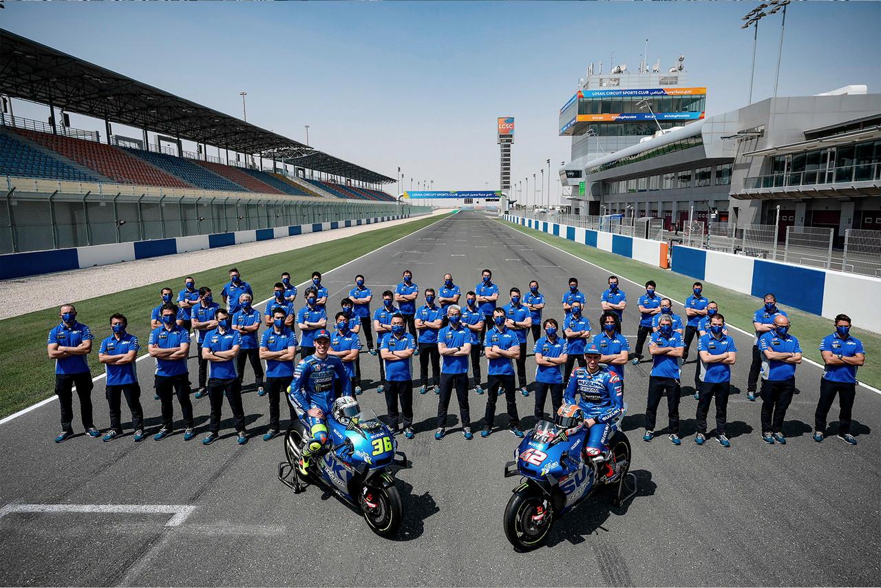 """Suzuki renueva en MotoGP: """"Tenemos hambre de más éxito"""""""