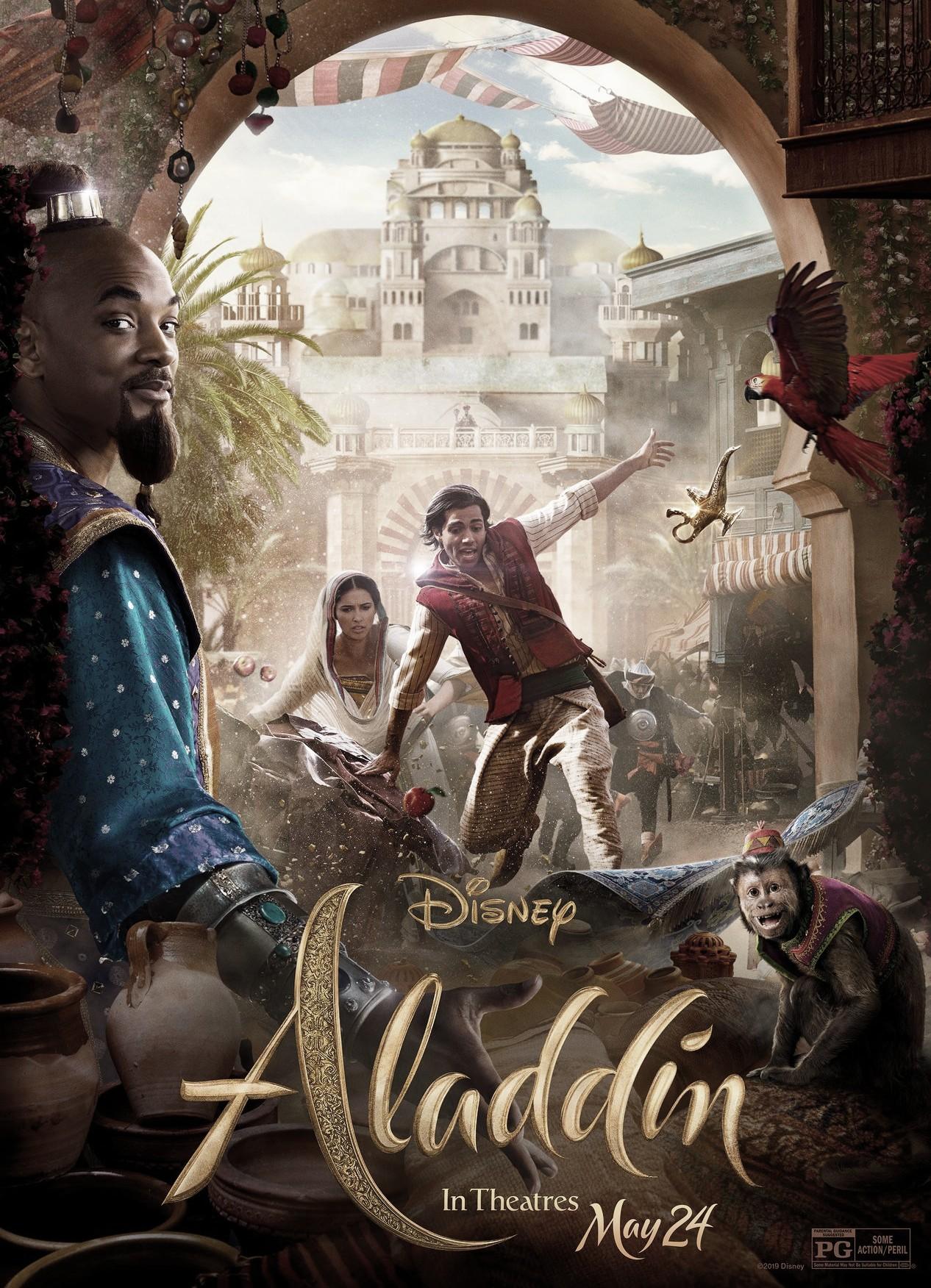 Aladdin: salvada por el genio de la lámpara