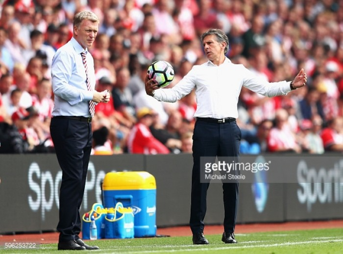 Southampton vs Sunderland Preview: Puel and Moyes eye up a place in the quarter final