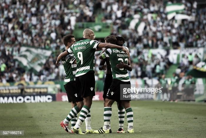 Sporting impõe-se ao FC Porto e é líder isolado