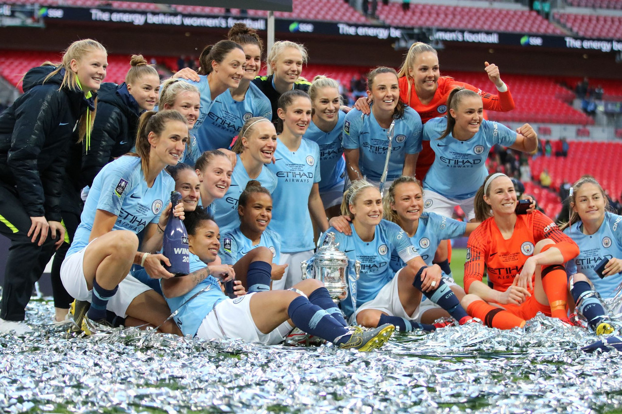 Women's FA Cup final: Manchester City 3-0 West Ham United