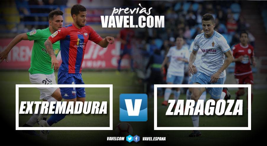 Previa Extremadura - Zaragoza: vuelo directo hacia la permanencia