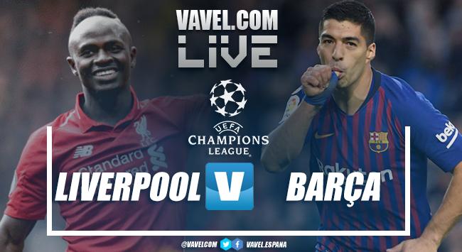 Resultado Liverpool x Barcelona na Uefa Champions League (4-0)
