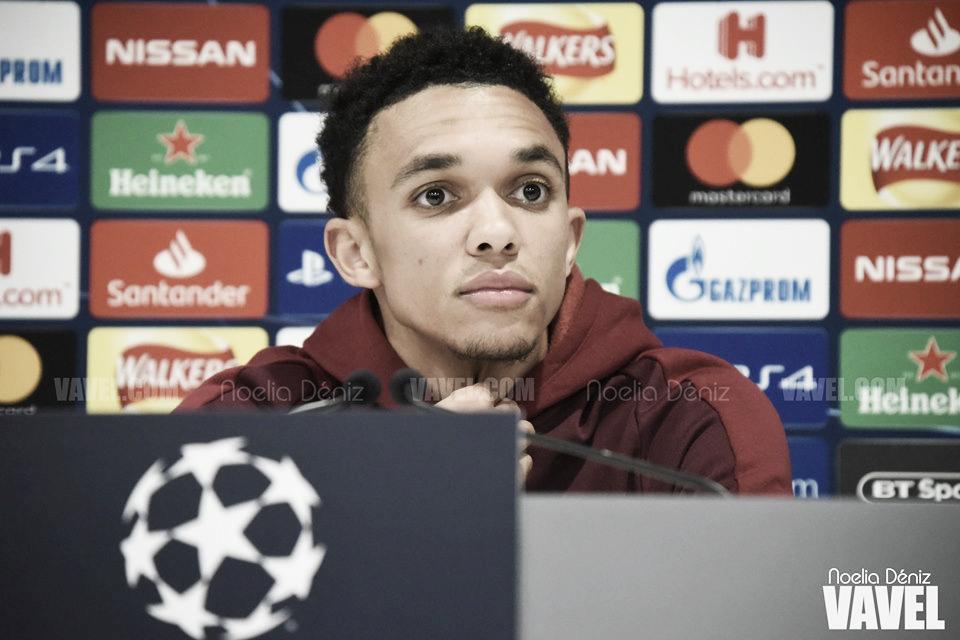 """Alexander-Arnold: """"Cualquier cosa es posible en Anfield"""""""